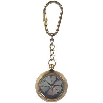Casa Estatuetas Signes Grimalt Keychain Compass Dorado