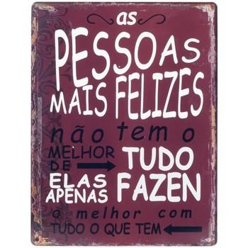 Casa Quadros, telas Signes Grimalt Placa De Parede Pessoas Felizes Rojo