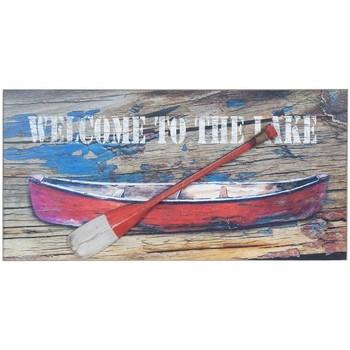 Casa Quadros, telas Signes Grimalt Placa De Parede Barca Remo Multicolor