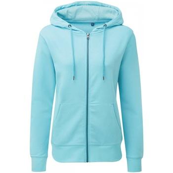 Textil Mulher Sweats Asquith & Fox AQ081 Oceano brilhante