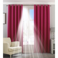 Casa Cortinados Riva Home Taille 2: 117 x 183cm Pink