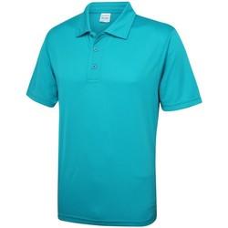 Textil Homem Polos mangas curta Awdis JC040 Azul Turquesa