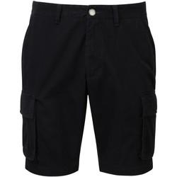 Textil Homem Shorts / Bermudas Asquith & Fox AQ054 Preto