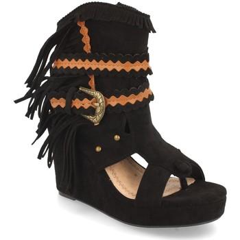 Sapatos Mulher Botins H&d YZ19-239 Negro