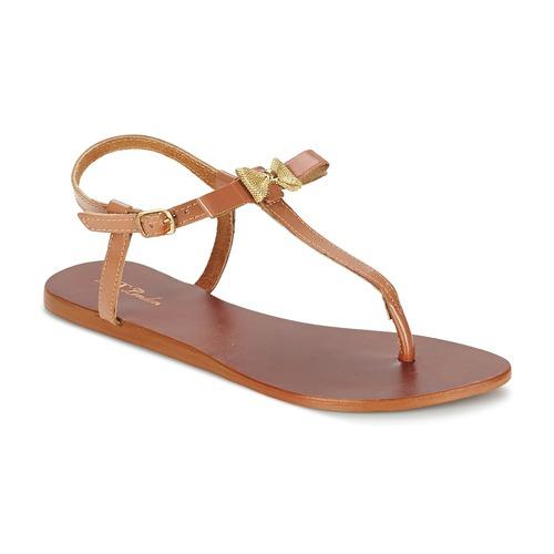 Sandálias Betty London BASTINE Camel 350x350