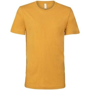 Textil T-Shirt mangas curtas Bella + Canvas CV001 Mustard Yellow