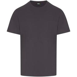 Textil Homem T-Shirt mangas curtas Pro Rtx RX151 Cinza sólido