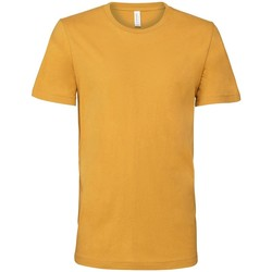 Textil T-Shirt mangas curtas Bella + Canvas CV3001 Mustard Yellow
