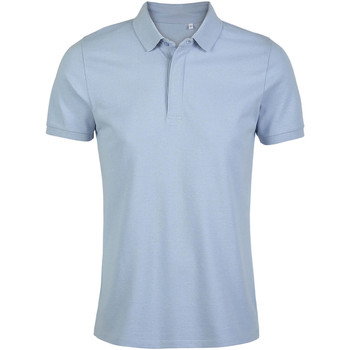 Textil Homem Polos mangas curta Sols OWEN MEN Azul claro