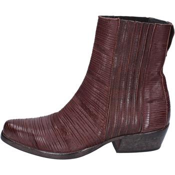 Sapatos Mulher Botins Moma BJ679 Castanho