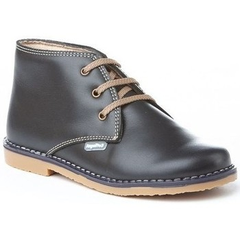Sapatos Rapaz Botas baixas Cbp - Conbuenpie Botin de mujer de piel by PEPE MENARGUES (TUPIE) Bleu