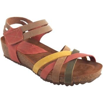 Sapatos Mulher Sandálias Interbios Sandália feminina  5338 vários Amarelo