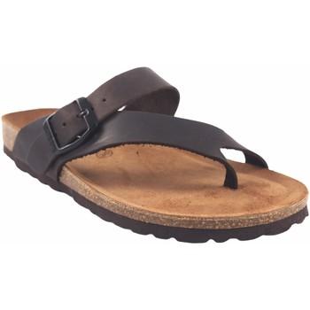 Sapatos Mulher Chinelos Interbios Sandália de senhora  7119 marrom Castanho