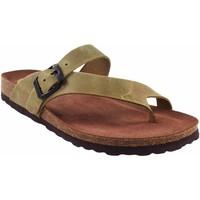 Sapatos Mulher Chinelos Interbios Sandália feminina  7119 kaki Verde