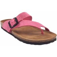 Sapatos Mulher Multi-desportos Interbios Sandália feminina  7119 fuxia Rosa