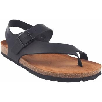 Sapatos Mulher Chinelos Interbios Sandália feminina  7162 preta Preto
