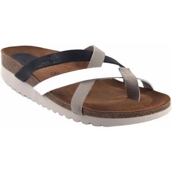 Sapatos Mulher Chinelos Interbios 7113-mg bl.azu Cinza