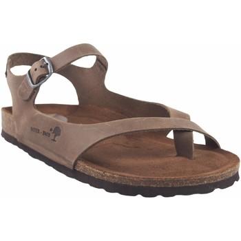 Sapatos Mulher Sandálias Interbios Sandália feminina  7164 taupe Castanho