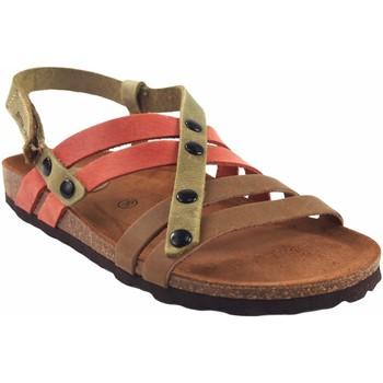 Sapatos Mulher Sandálias Interbios Sandália feminina  7200 vários Vermelho