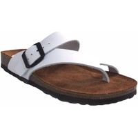 Sapatos Mulher Chinelos Interbios Sandália de senhora  7119 branca Branco