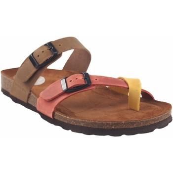 Sapatos Mulher Sandálias Interbios Sandália de senhora  7212 vários Amarelo