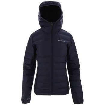 Textil Mulher Casacos  Columbia Lake Down Hooded Preto
