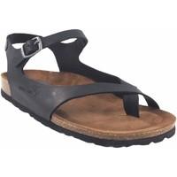 Sapatos Mulher Sandálias Interbios Sandália feminina  7164 preta Preto