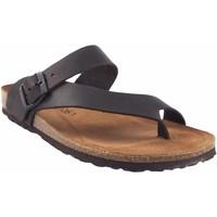 Sapatos Homem Chinelos Interbios Sandália masculina  9511 marrom Castanho