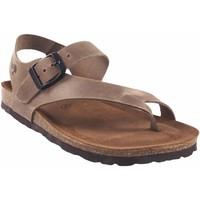 Sapatos Mulher Chinelos Interbios Sandália feminina  7162 taupe Castanho