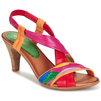 Sapatos Mulher Sandálias Betty London POULOI Multicolor