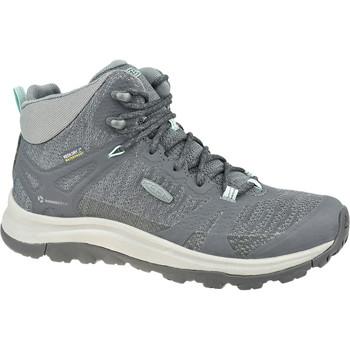 Sapatos Mulher Sapatos de caminhada Keen W Terradora II Mid WP Grise