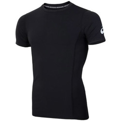 Textil Homem T-Shirt mangas curtas Asics Spiral Top T-shirt Noir