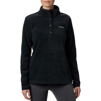 Textil Mulher Casaco polar Columbia Benton Springs 1/2 Snap Pullover Noir