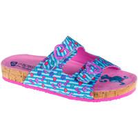 Sapatos Criança Chinelos Skechers Granola Bleu