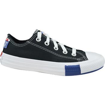 Sapatos Criança Sapatilhas Converse Chuck Taylor All Star Jr Noir