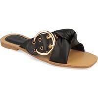 Sapatos Mulher Chinelos Buonarotti 1HA-1139 Negro