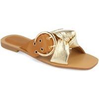 Sapatos Mulher Chinelos Buonarotti 1HA-1139 Oro