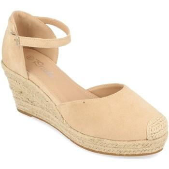 Sapatos Mulher Alpargatas Prisska DFY1099 Beige
