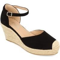 Sapatos Mulher Alpargatas Prisska DFY1099 Negro