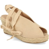 Sapatos Mulher Sandálias Prisska DFY1123 Beige