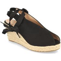 Sapatos Mulher Sandálias Prisska DFY1123 Negro