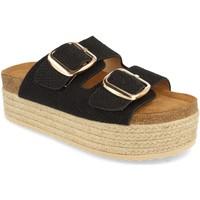 Sapatos Mulher Chinelos Buonarotti 1BD-1179 Negro