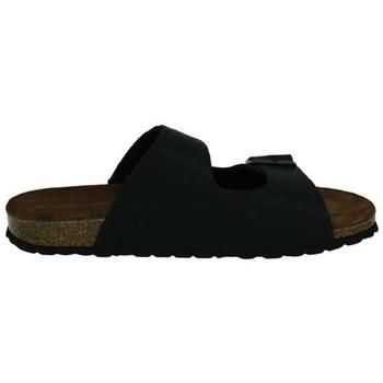 Sapatos Homem Chinelos Interbios  Preto