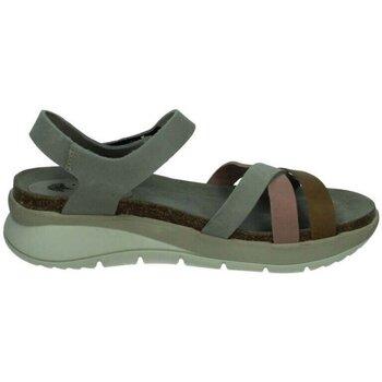 Sapatos Mulher Sandálias Interbios  Cinza
