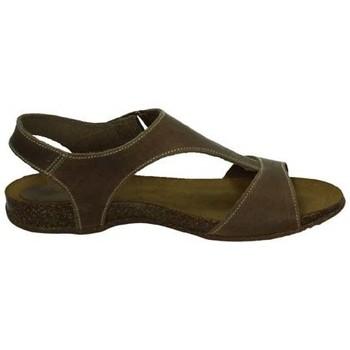 Sapatos Mulher Sandálias Interbios  Bege