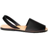 Sapatos Mulher Sandálias Purapiel 69728 BLACK