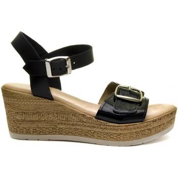 Sapatos Mulher Sandálias Purapiel 70161 BLACK