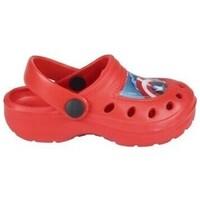 Sapatos Rapaz Tamancos Cerda 2300004303 Niño Rojo rouge