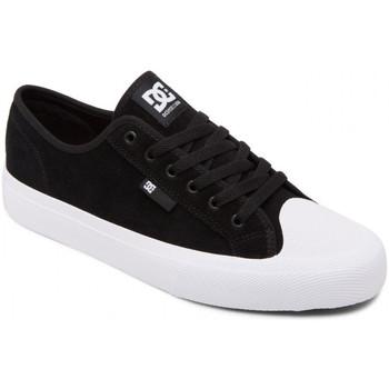 Sapatos Homem Sapatos estilo skate DC Shoes Manual rt s Preto