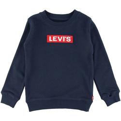 Textil Rapaz Sweats Levi's - Felpa blu 8EB821-U09 BIANCO
